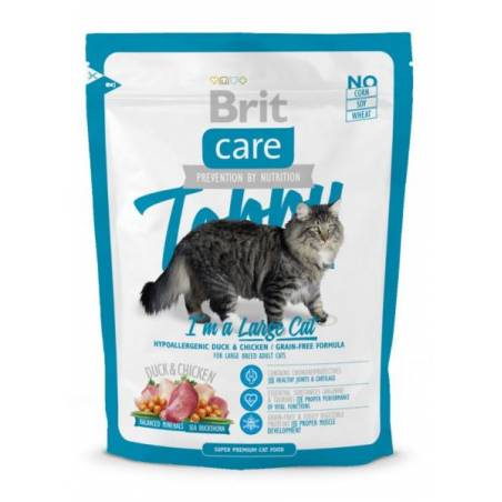 BRIT CARE CAT TOBBY I'M A LARGE CAT 400 g
