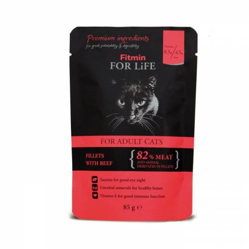 FITMIN cat For Life pouch...