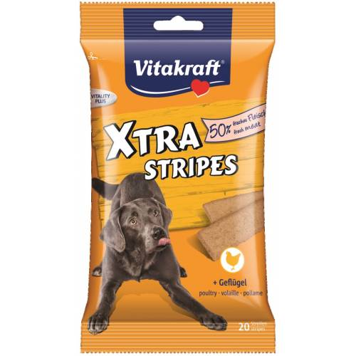 VITAKRAFT XTRA STRIPES drób...