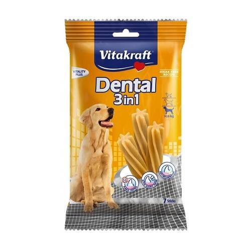 VITAKRAFT DENTAL 3w1 M 180g...