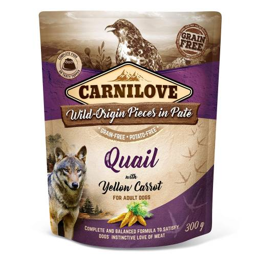 CARNILOVE DOG POUCH ADULT...